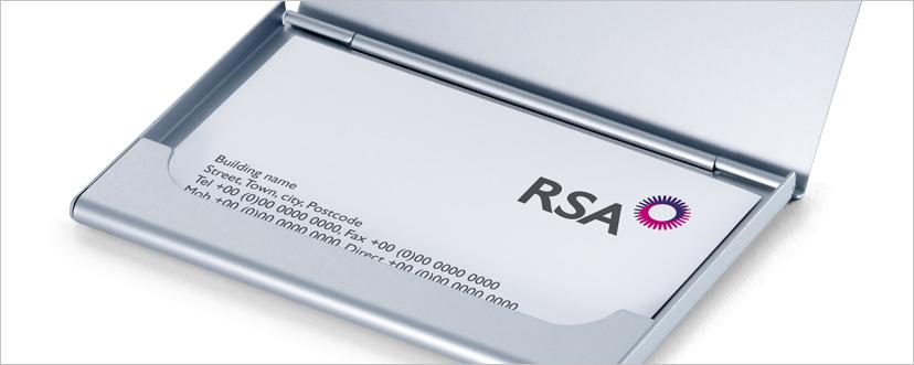 RSA Canada business cards