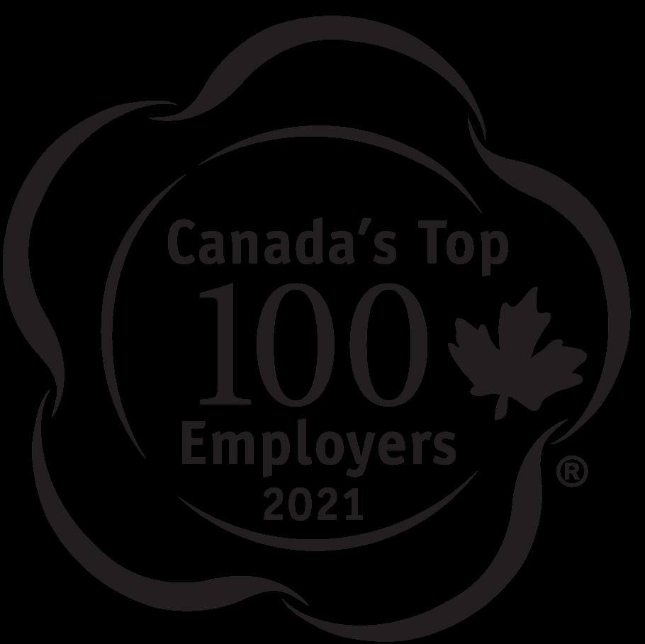 Canada's Top 100 2021 logo