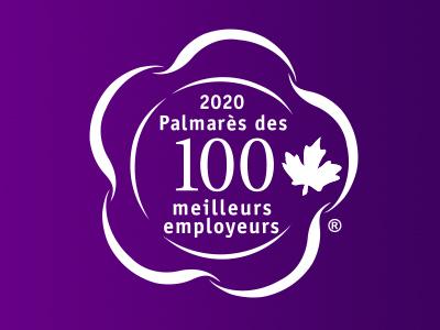2020 Palmarès des 100 meilleurs employeurs