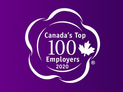 Canada Top 100 Employers 2020 logo