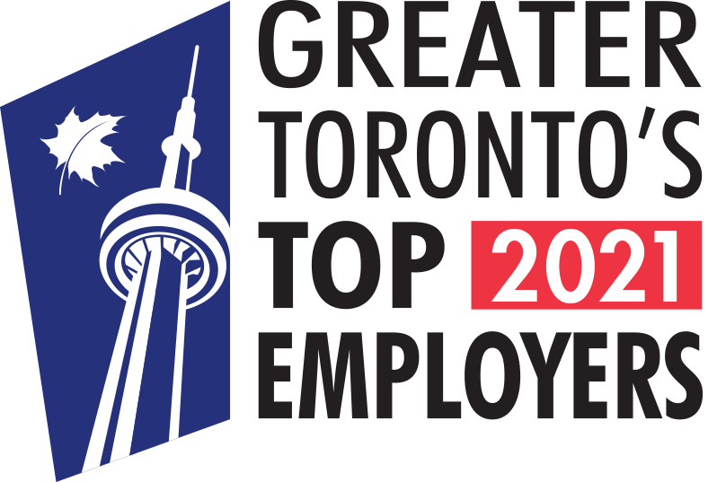 Greater Toronto's Top Employers for 2021